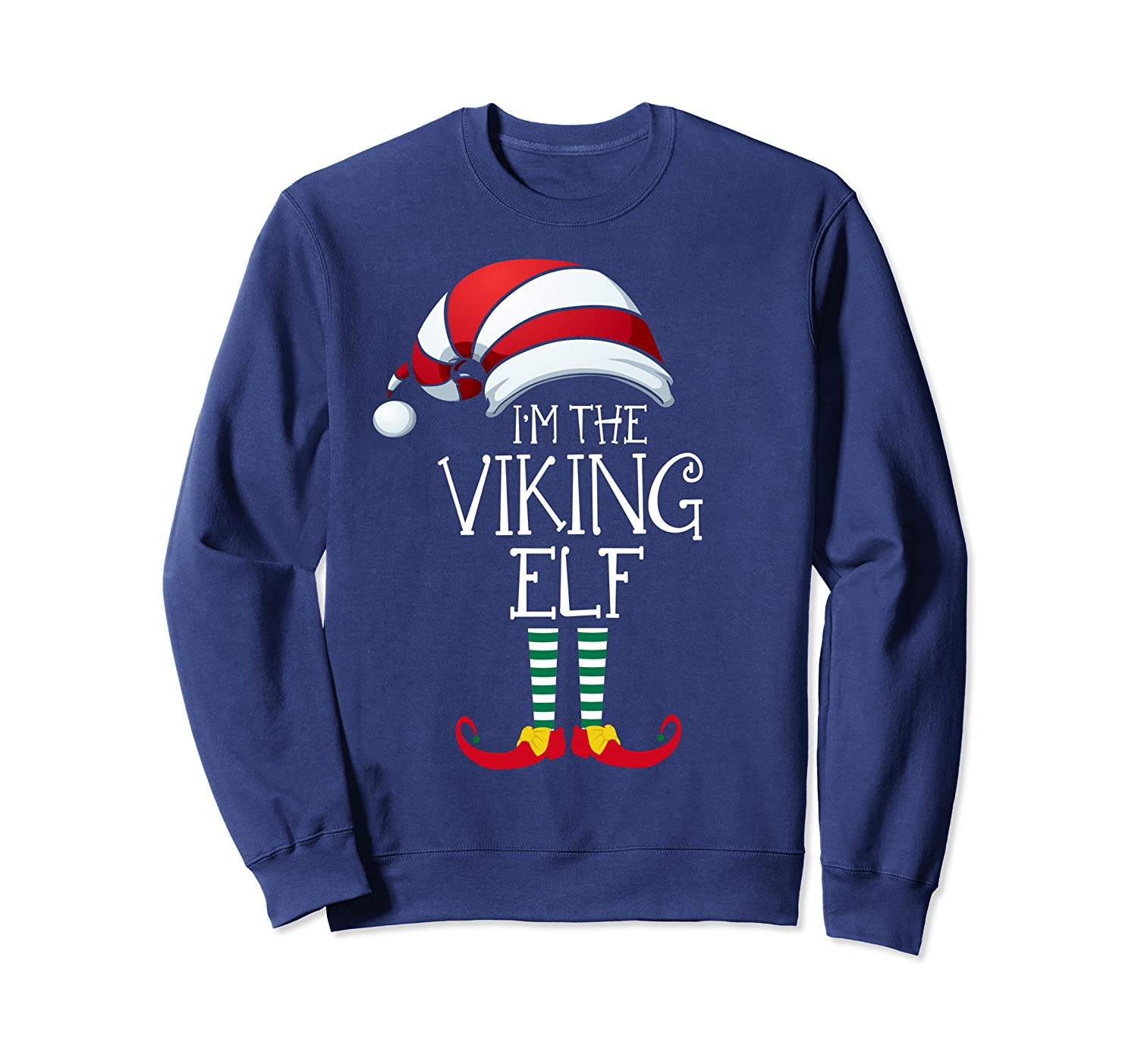 I'm The Viking Elf Family Matching Christmas Gift Group Sweatshirt-TH