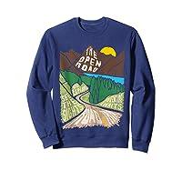 Road Trip 2019 Adventure Awaits Family Summer Vacation Gift Shirts Sweatshirt Navy