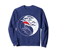Spirit Soul Yin Yang Bonsai Tree Meditation Shirts Sweatshirt Navy