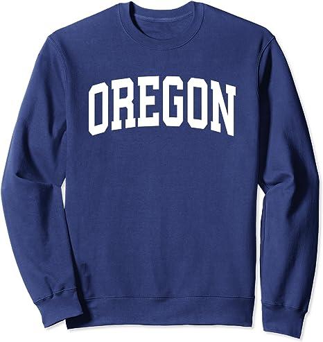 Oregon Original Travel Tourist Souvenir Crewneck Sweatshirt