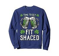 Shaced Tshirt Saint Patrick S Day Gift Shaced Shirt Sweatshirt Navy