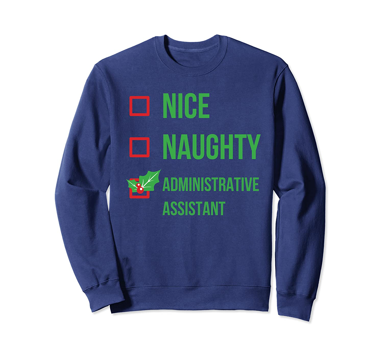 Administrative Assistant Funny Pajama Christmas Gift Sweatshirt
