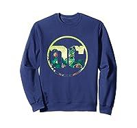 Green Lantern Dc Comics Logo Shirts Sweatshirt Navy