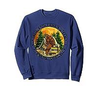 Sasquatch Drinking Team Drink Till You Believe Tshirt Sweatshirt Navy