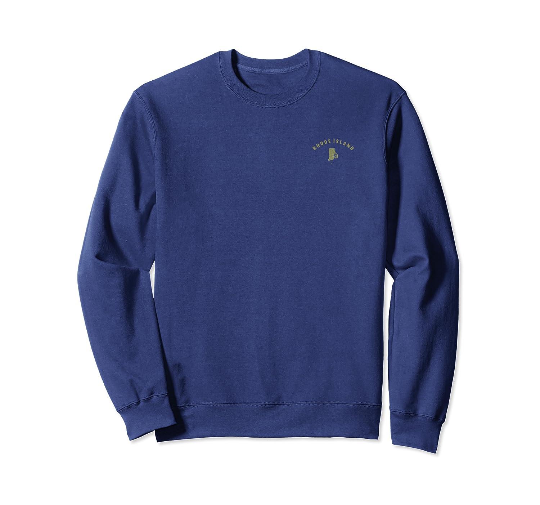 RI Home State Mens Womens Sports Team Rhode Island Lovers  Sweatshirt