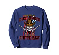 When The Guns Are Outlawed T Shirt For And  Sweatshirt Navy