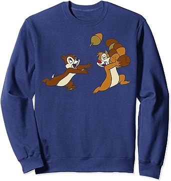 Disney Chip 'N Dale Acorn Chase Sweatshirt