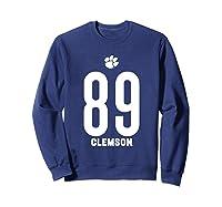 Clemson University Tigers 08amct1 Shirts Sweatshirt Navy