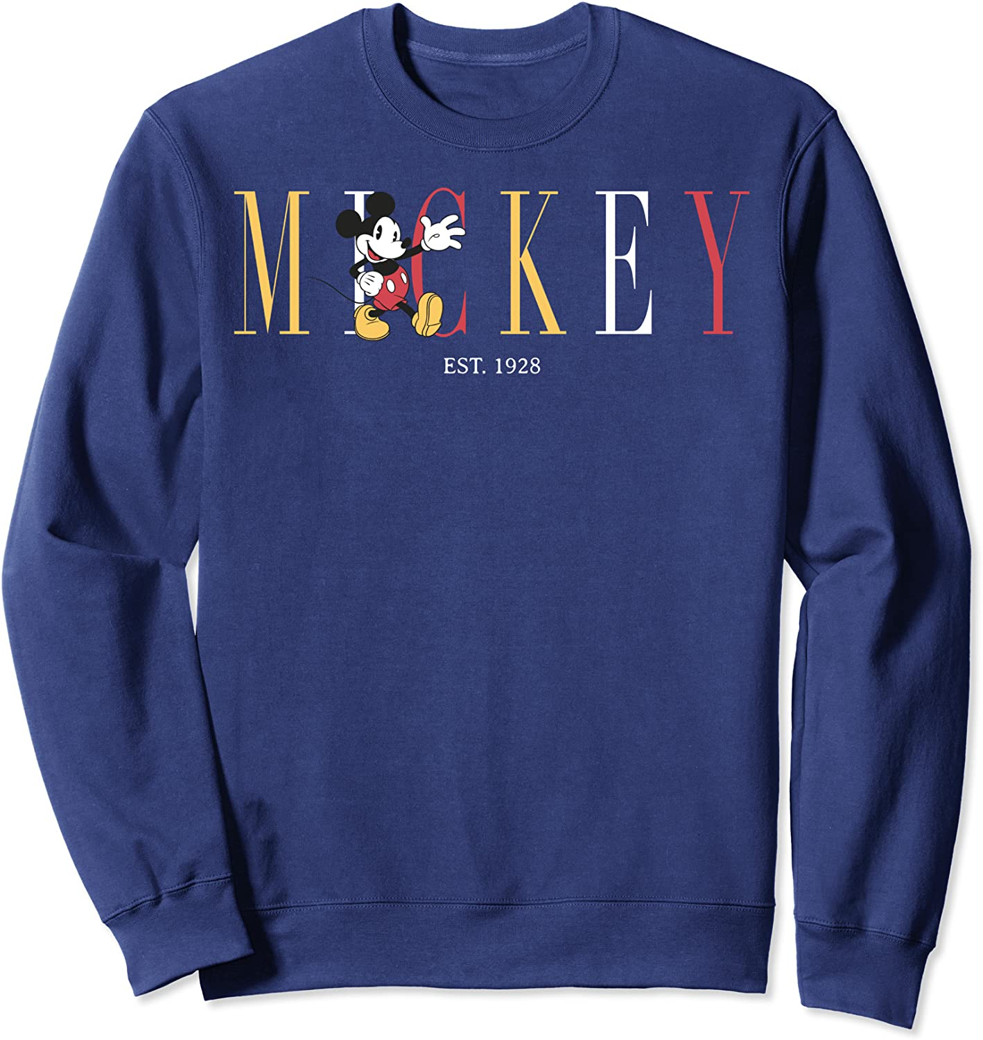 Disney Direct store Mickey And Friends Mouse Simple 1928 Text Est. Swe Ranking TOP20