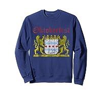 Oktoberfest Chicago Bavaria Germany T-shirt Sweatshirt Navy