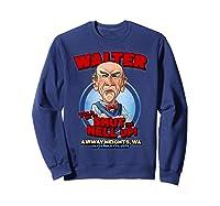 Walter Airway Heights Wa Shirts Sweatshirt Navy