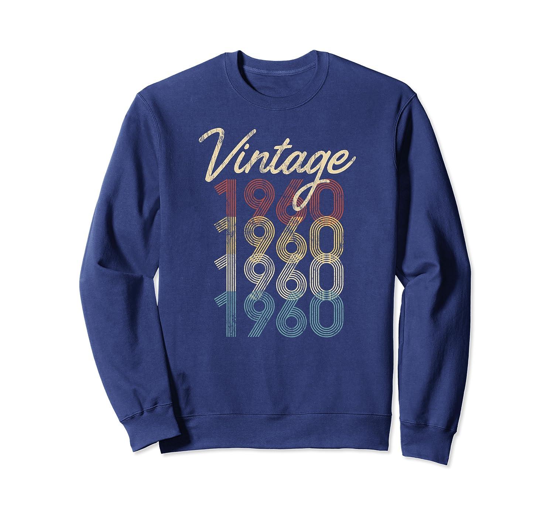 1960 Vintage Birthday Gift 60th Birthday Groovy Retro Sweatshirt