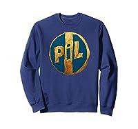 Pil Blue Gold Logo Shirts Sweatshirt Navy