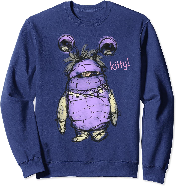 定番キャンバス Disney Pixar Monsters Inc. Sweatshirt Boo Kitty デポー Sketch