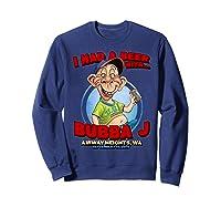 Bubba J Airway Heights Wa Shirts Sweatshirt Navy
