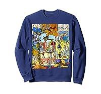 Wizard Of Oz Montage Shirts Sweatshirt Navy