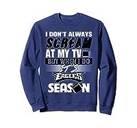 Eagles Fan T-shirt Philly Eagles Phila Eagles Fan  Sweatshirt Navy