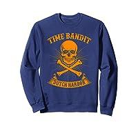 Time Bandit Dutch Harbor Shirts Sweatshirt Navy