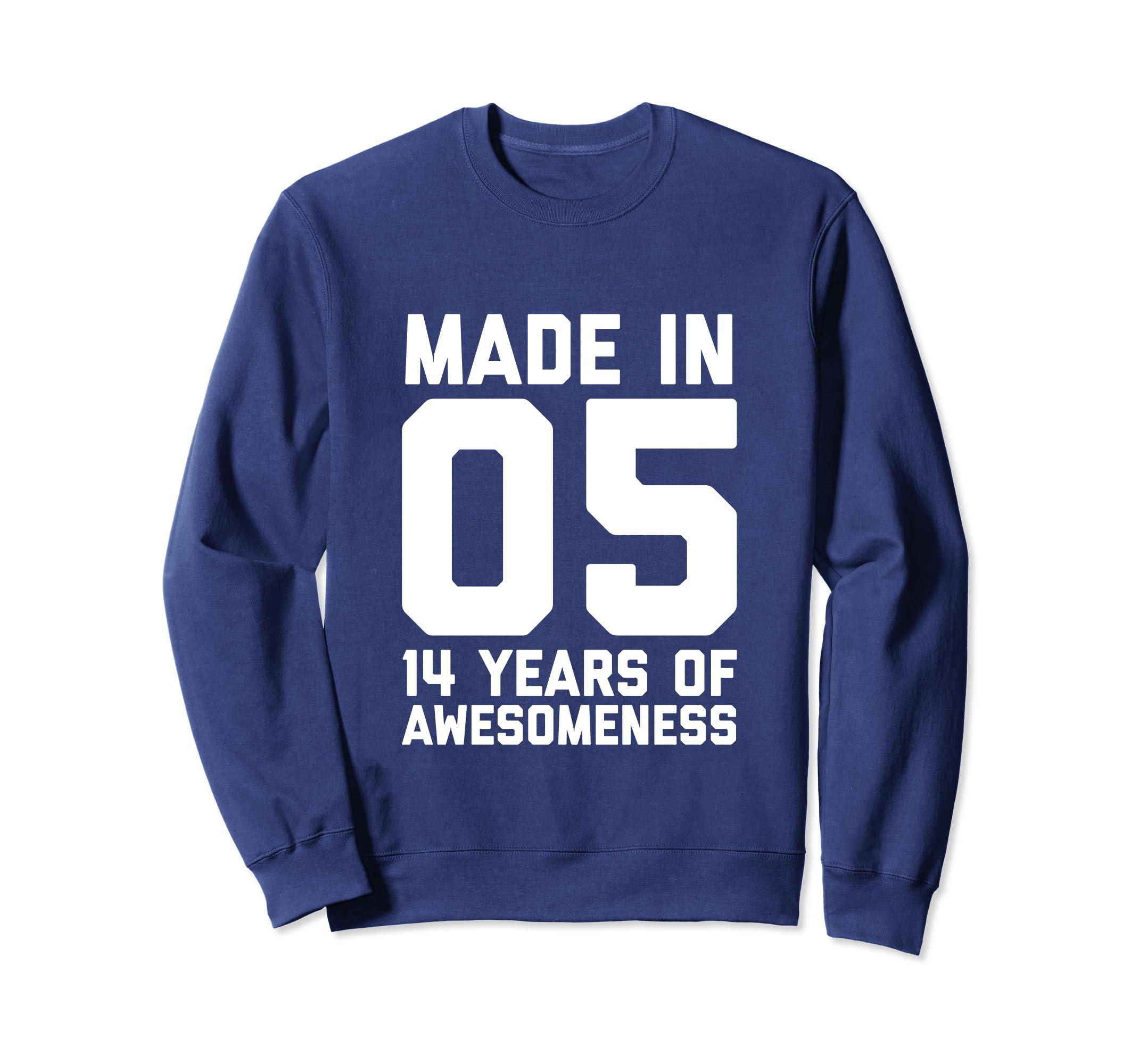 Amazon 14th Birthday Sweatshirt Girls 14 Year Old Daughter Gifts Clothing