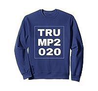Trump 2020 Shirts Sweatshirt Navy