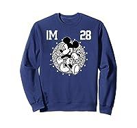 Disney Mickey Mouse Academy T Shirt Sweatshirt Navy