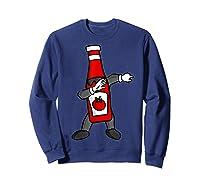 Ketchup Dab Pose T-shirt Sweatshirt Navy