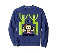 8 Bit Bayley Shirts Sweatshirt Navy