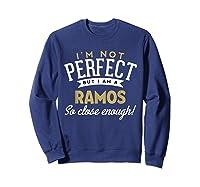 Ramos Family Reunion Shirts Sweatshirt Navy