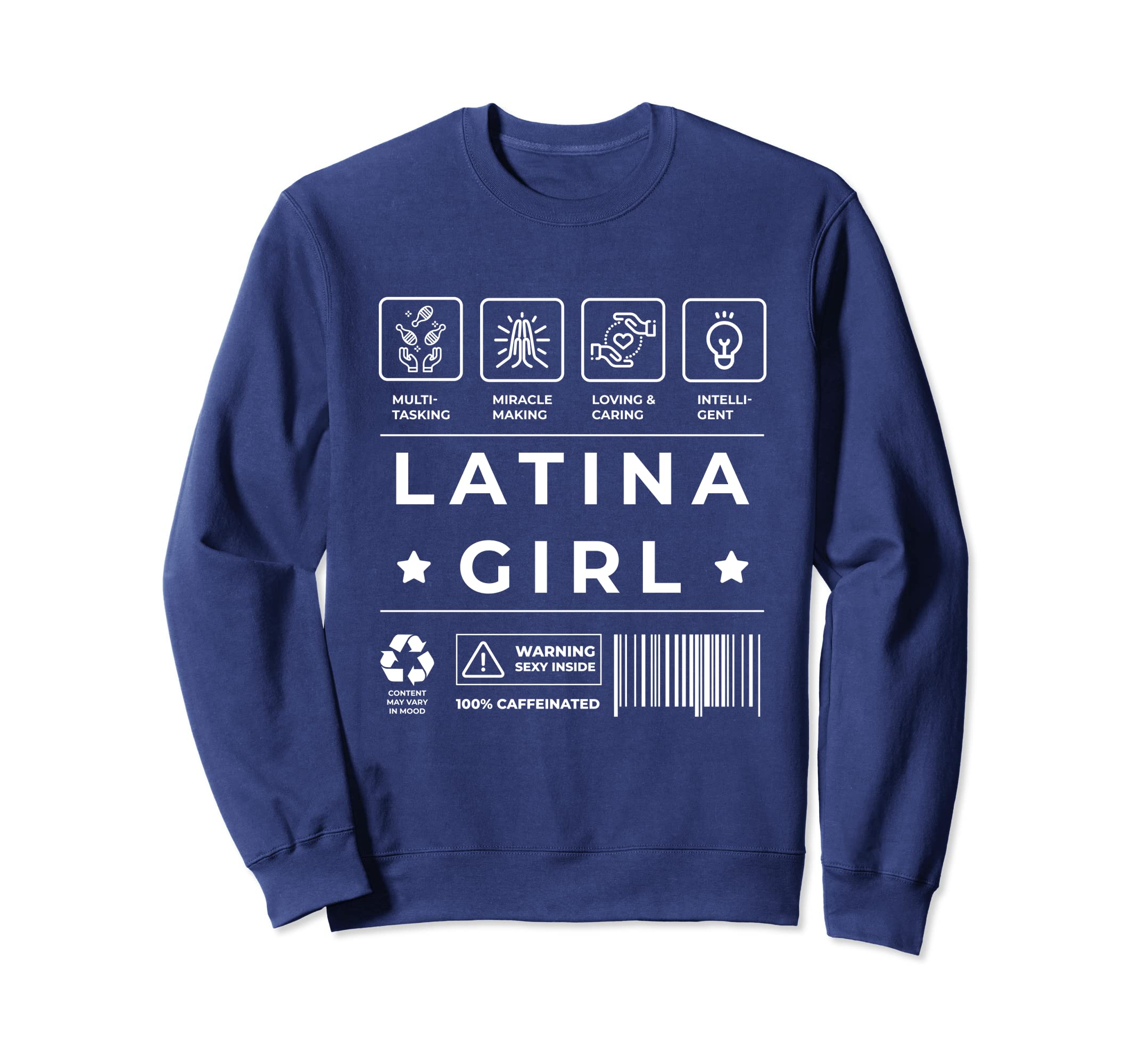 Amazon.com: Latina Power Sweatshirt for Women Sudadera Mujer Latina: Clothing