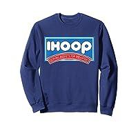 Ihoop Buckets For Breakfas Fun Basketball Shirts Sweatshirt Navy