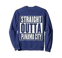 Straight Outta Pa City Shirt Sweatshirt Navy