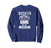 Nebraska Cornhuskers Husker Football Apparel Shirts Sweatshirt Navy