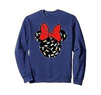 Disney Minnie Lights Up T Shirt Sweatshirt Navy
