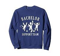 S Bachelor Shirt Gamer Shirt Bachelor Team Support T Shirt Sweatshirt Navy