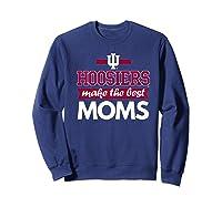 Indiana Hoosiers Indiana University Best Moms Shirts Sweatshirt Navy