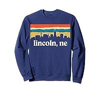 Lincoln Nebraska Shirt Sweatshirt Navy
