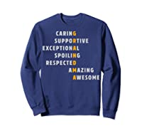 Grandma Crossword Definition Meaning Nana Funny Gift Shirt Sweatshirt Navy