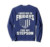 Deployed Stepson Homecoming Shirts Sweatshirt Navy