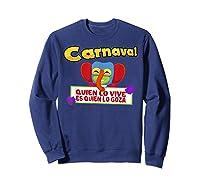 Carnaval De Barranquilla Marimonda T Shirt Sweatshirt Navy