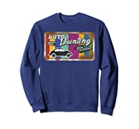 Auto Painting Old Stuff Rusty Sign T Shirt Gift For Pickers Sweatshirt Navy