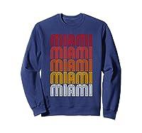Miami Miami Miami T-shirt Sweatshirt Navy
