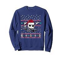 Nightmare Before Christmas Holiday Shirts Sweatshirt Navy