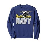 U.s. Navy Seals Team Gift Proud Usn Seal T-shirt Sweatshirt Navy