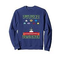 Video Game Designer Gamer S Gaming Shirts Sweatshirt Navy