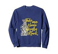 Roads To Hockey Country Fan Take Me Home Top Gift Tank Top Shirts Sweatshirt Navy