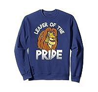 Lion King Adult Simba Leader Of Pride Graphic Shirts Sweatshirt Navy
