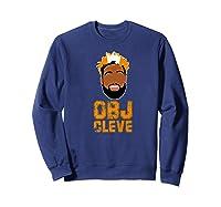 Football Obj Cleveland Shirts Sweatshirt Navy