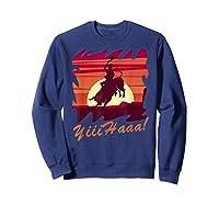 Rodeo 2019 T Shirt Houston Rodeo Cowboy Yiiihaaa Sweatshirt Navy