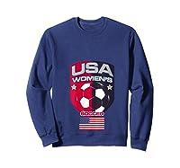 Soccer 2019 Usa Team Championship Cup Shirts Sweatshirt Navy
