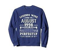 August 1998 20th Birthday Gift Shirt 20 Years Old  Sweatshirt Navy
